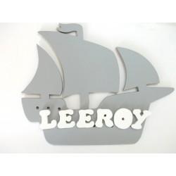 plaque bateau pirate