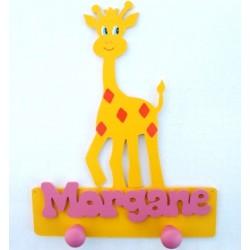 Porte-manteaux girafe