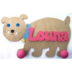 Porte manteau bulldog
